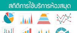 Service Statistics : สถิติการใช้บริการอาคารบรรณราชนครินทร์ (ห้องสมุด) สำนักวิทยบริการและเทคโนโลยีสารสนเทศ